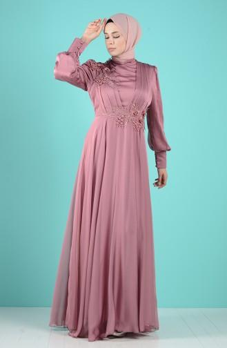 Habillé Hijab Rose Pâle 52780-02