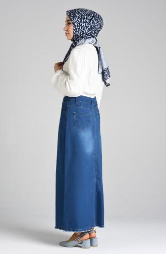 Jupe Bleu Marine 2310-01
