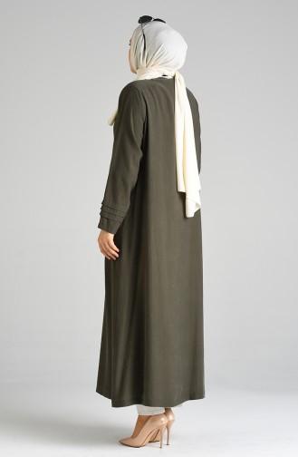 Khaki Abayas 0375-06