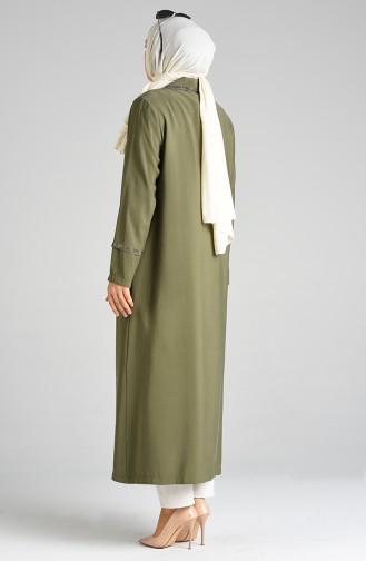 Khaki Abayas 0399-03