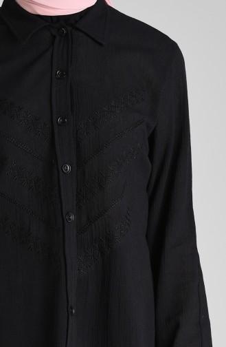 Chemise Noir 0032-01