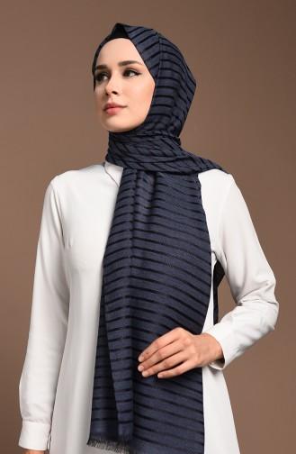 Navy Blue Sjaal 13180-02