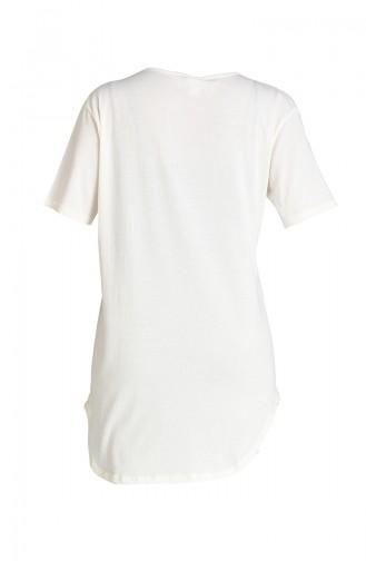 Cream T-Shirt 5115-03