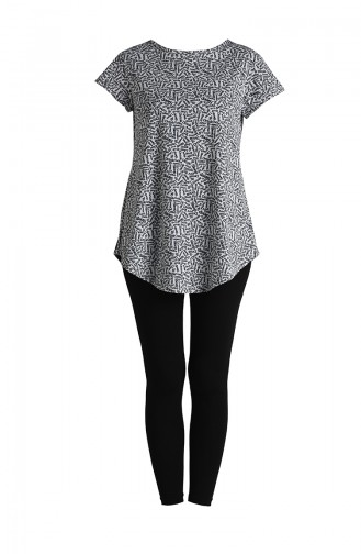 Gray Pyjama 5117-02