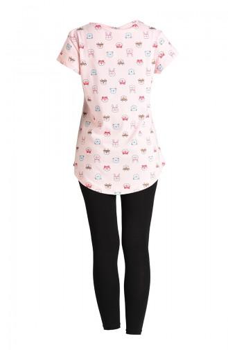 Black Pyjama 5117-03
