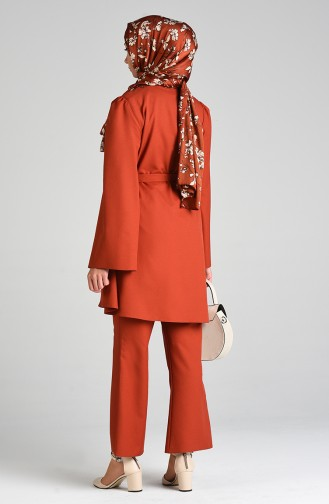 Belted Tunic Trousers Double Suit 0285-05 Tile 0285-05