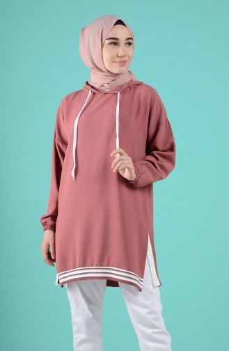 Dusty Rose Tunic 8026-06