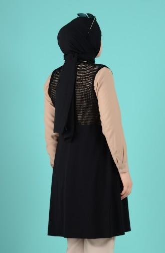 Gilet Sans Manches Noir 5495-01