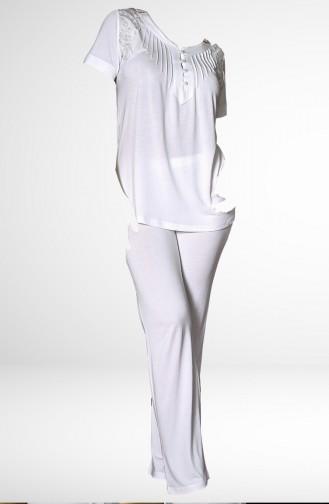 Ecru Pyjama 756-02