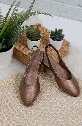 Copper Woman Flat Shoe 0172-05