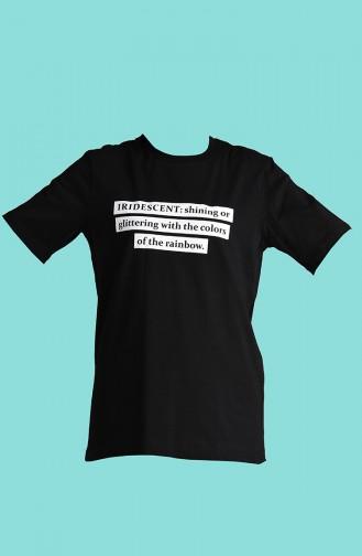 T-Shirt Noir 2002-02
