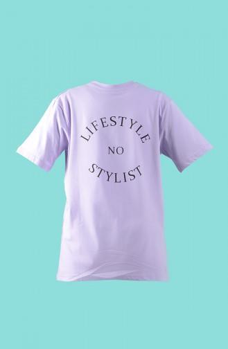 Lila T-Shirt 2003-03