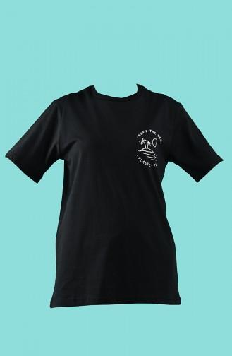 T-Shirt Noir 2005-01
