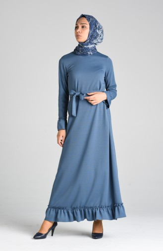 Robe Hijab Indigo 0031-07