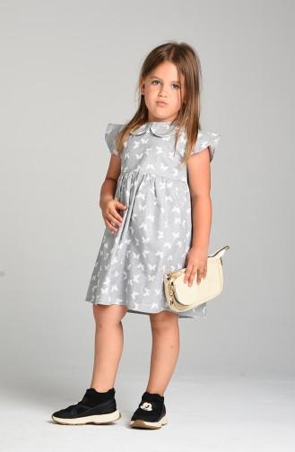 Robe Enfant Gris 4602-02
