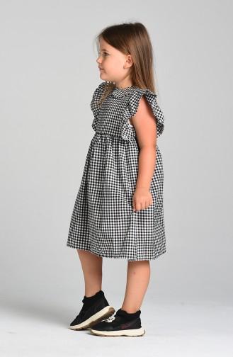 Black Kinderjurk 4606-03