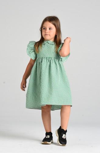 Robe Enfant Vert 4606-05