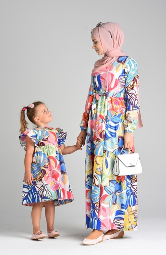 Robe Hijab Vert 4622-01
