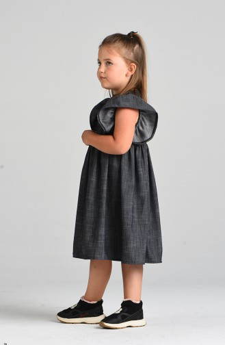Rauchgrau Kinderbekleidung 4638-01