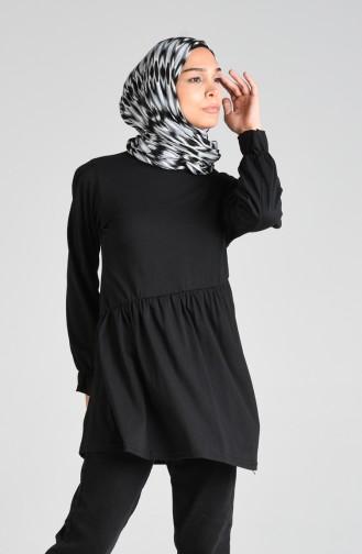 Tunique Noir 4002-02