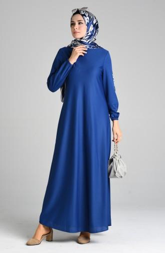 فساتين سهرة بتصميم اسلامي نيلي 1907-09