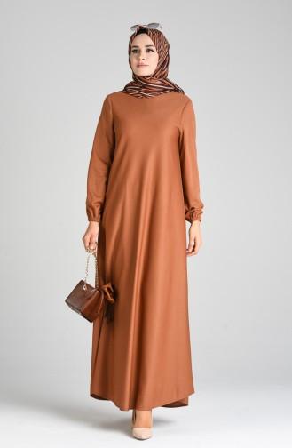 Habillé Hijab Tabac 1907-03