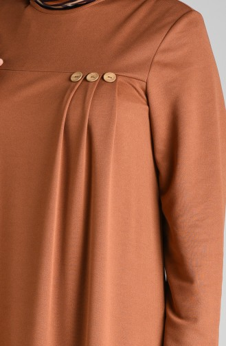 Pleated Dress 1908-08 Tobacco 1908-08