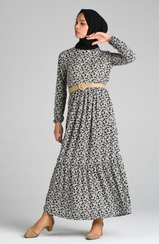 Robe Hijab Noir 0376-03