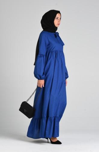 Robe Hijab Bleu 1395-02