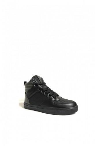 Chaussures Enfant Noir 4632