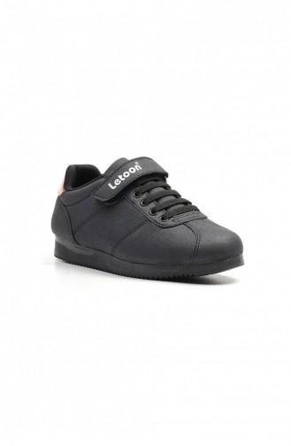 Chaussures Enfant Noir 5036