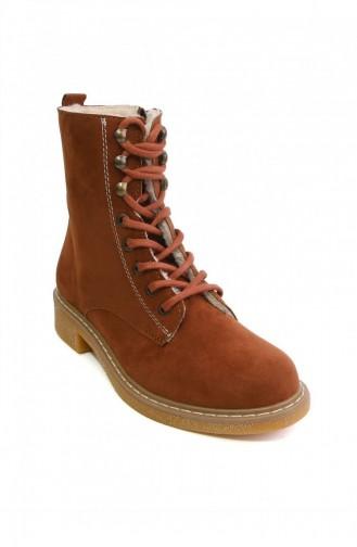 Brown Bot-bootie 4679