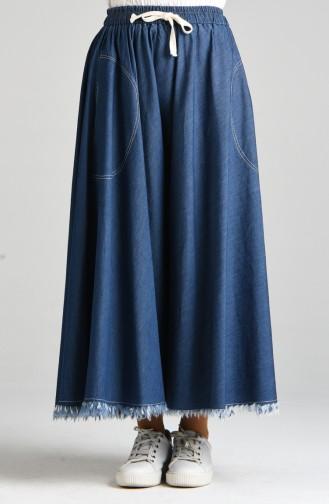 Jupe Bleu Marine 4051-02