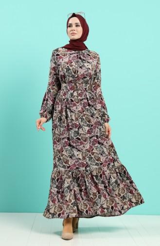 Koralle Hijap Kleider 4539-01