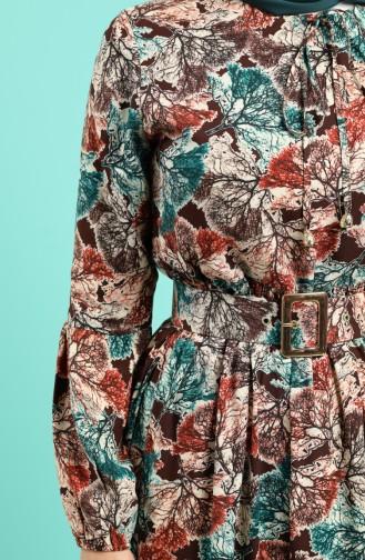 Koralle Hijap Kleider 4539-05