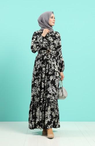 فستان أسود 4540-01