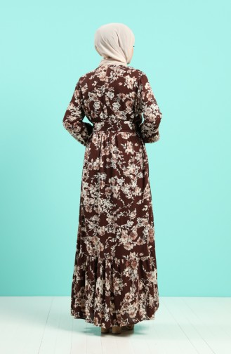 Braun Hijap Kleider 4540-04