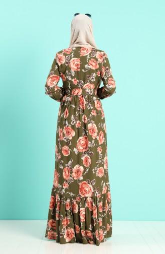 Robe Hijab Corail 4542-03