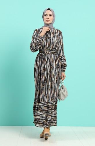 Robe Hijab Gris 4545-03