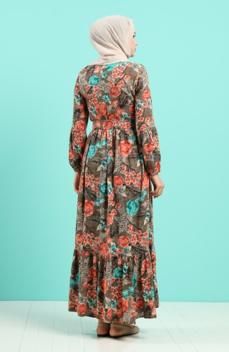 Robe Hijab Corail 4543-04