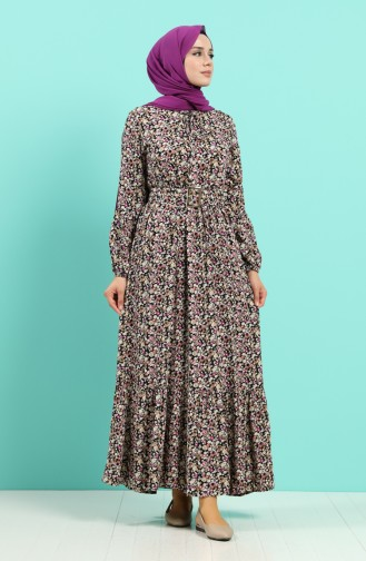 Robe Hijab Noir 4544-02