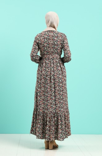 Robe Hijab Corail 4544-05