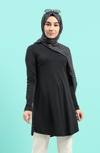 Light Black Tuniek 8265-03