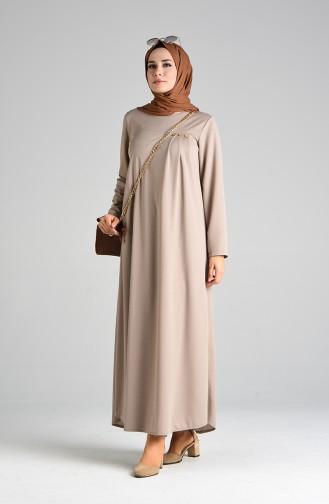 Robe Hijab Beige 1908-02