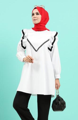 Chemise Blanc 4005-01
