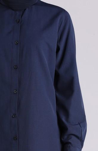 Navy Blue Tuniek 6475-03