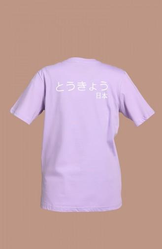 T-Shirt Lila 2006-02