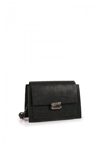 Black Shoulder Bag 205Z-01