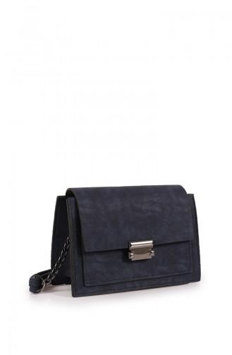 Navy Blue Shoulder Bag 205Z-03