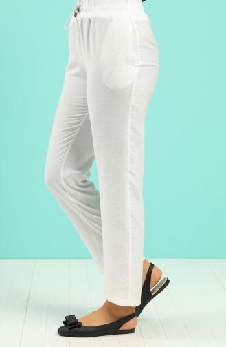 Pantalon Crème 0161-09